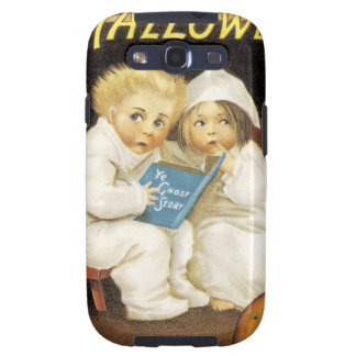 Scared Children on Halloween Samsung Galaxy S3 Covers