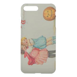 Scared Children Smiling Jack O' Lantern Pumpkin iPhone 8 Plus/7 Plus Case