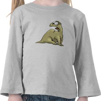 Scared Dinosaur Shirt