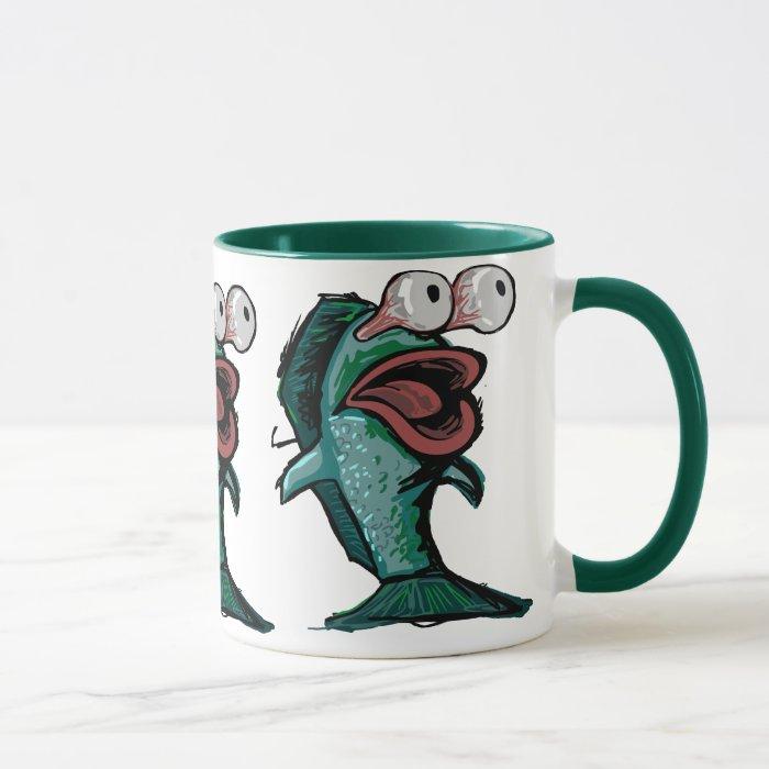 Scared Fish Mug