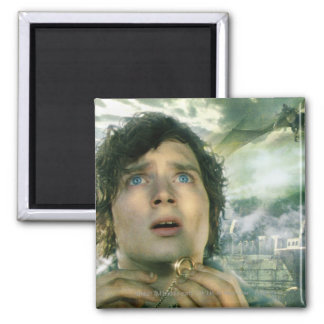 Scared FRODO™ Holding Ring 2 Inch Square Magnet