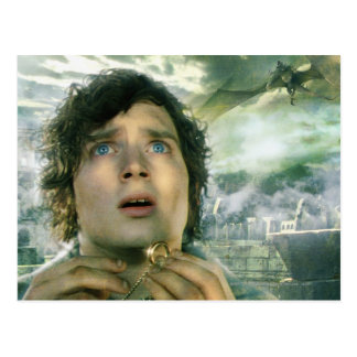 Scared FRODO™ Holding Ring Postcard