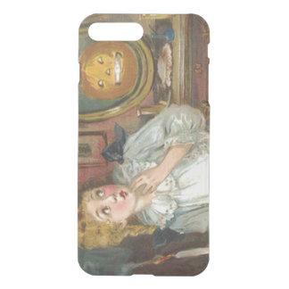 Scared Girl Smiling Jack O' Lantern Pumpkin iPhone 8 Plus/7 Plus Case