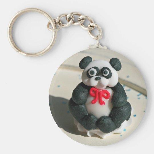 Scared Gumball Panda Keychain