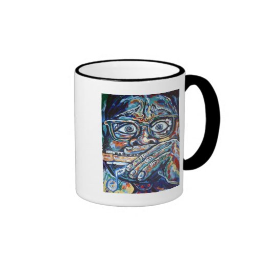 SCARED HARMONICA COFFEE MUGS