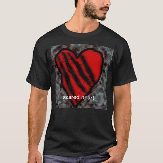 scared heart T-Shirt