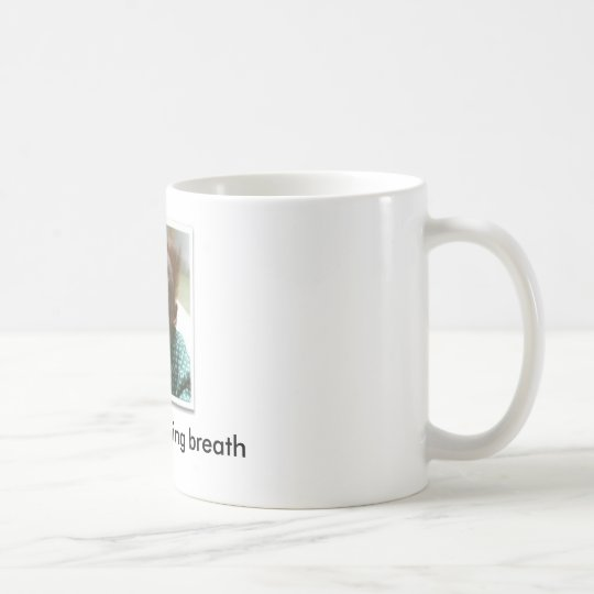 scared-monkey, EWW!!  morning breath - Customized Coffee Mug