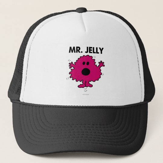 Scared & Nervous Mr. Jelly Trucker Hat