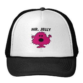 Scared & Nervous Mr. Jelly Trucker Hat