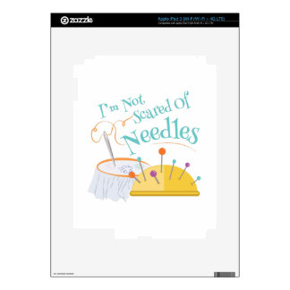 Scared Of Needles iPad 3 Skin