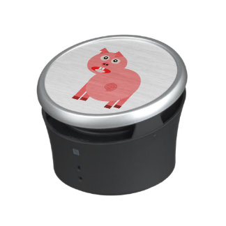 Scared pig cartoon bluetooth speaker