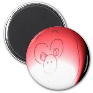 Scared Piggy caught in the Dark Magnet