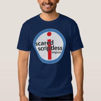 Scared Scriptless Big Stamp Logo Shirt
