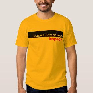 Scared Scriptless Black Box Logo Shirt