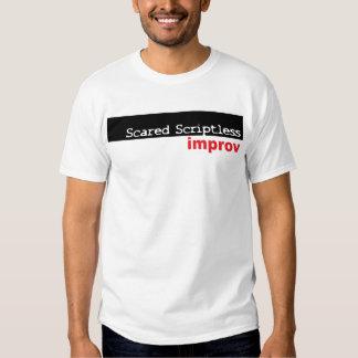 Scared Scriptless Box logo Shirt