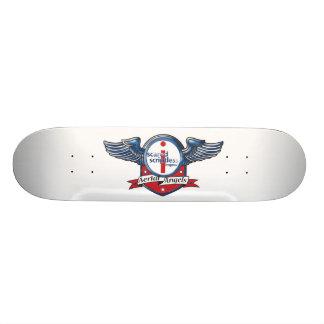 Scared Scriptless & the Aerial Angels Skate Skateboard Deck
