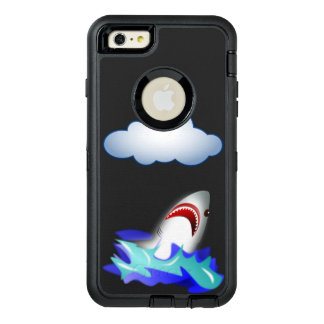 Scared shark OtterBox iPhone 6/6s plus case