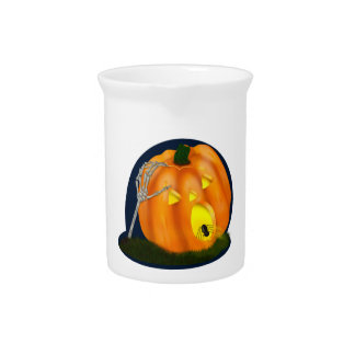 Scared Silly Pumpkin Beverage Pitcher