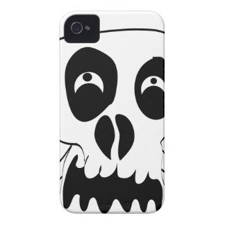 Scared Skull iPhone 4 Case