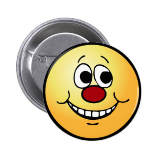 Scared Smiley Face Grumpey Button