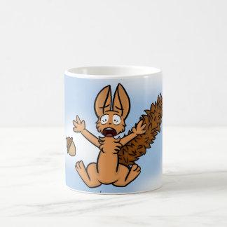 Scared Squirrel Mug