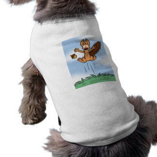 Scared Squirrel Pet Shirt