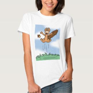 Scared Squirrel Women's Shirt