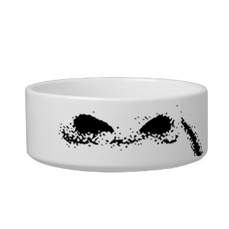 Scared Woman Expression Bowl