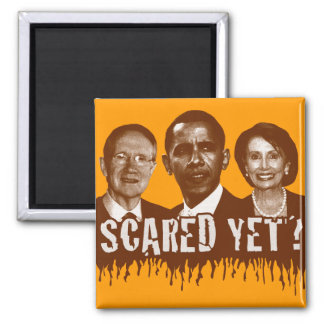 Scared Yet? 2 Inch Square Magnet