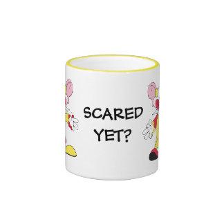 SCARED YET? Big Eared Clown Ceramic Mug