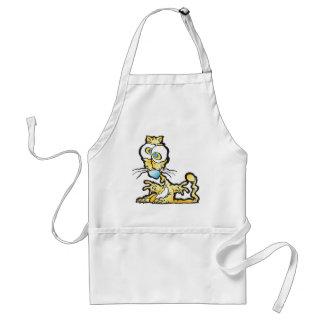 scaredee_cat adult apron