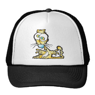 scaredee_cat trucker hat