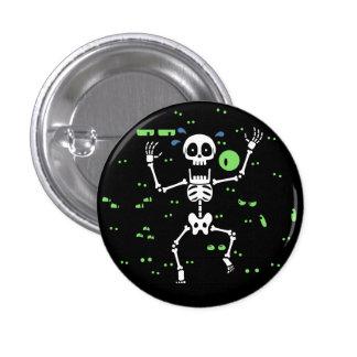 Scaredy-Bones (Spooky Eyes) Pin