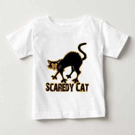 Scaredy Cat Baby T-Shirt