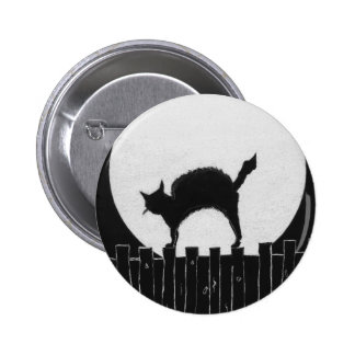 Scaredy Cat Pinback Button