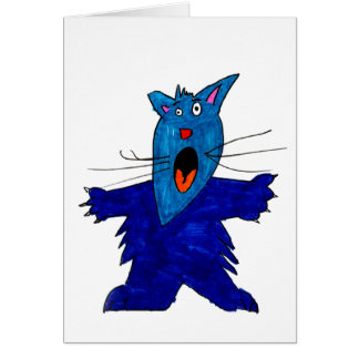 Scaredy Cat • Cooper Nielsen, Age 10  - card