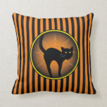Scaredy Cat Halloween Pillows