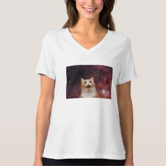 scaredy cat in space T-Shirt