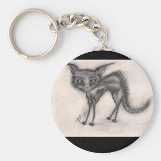 Scaredy Cat - Keychain