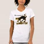 Scaredy Cat Tee Shirts