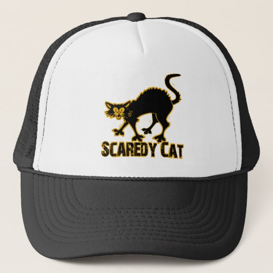Scaredy Cat Trucker Hat