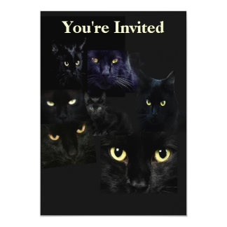 Scaredy Cats Invitation