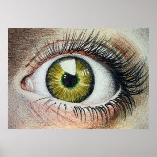 Scaredy Eye Poster