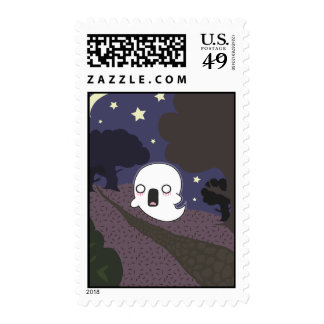 Scaredy Ghost Stamps
