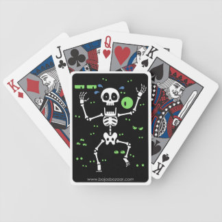 Scaredy-Huesos (ojos fantasmagóricos) Baraja Cartas De Poker