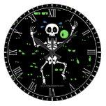 Scaredy-Huesos (ojos fantasmagóricos) Reloj