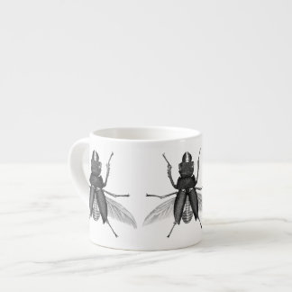 Scarey Beetle Bug with Mandible Pinchers Espresso Cup