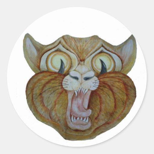 Scarey Kitty Stickers
