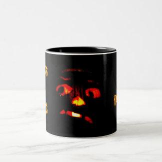 SCAREY PUMPKIN HALLOWEEN mug