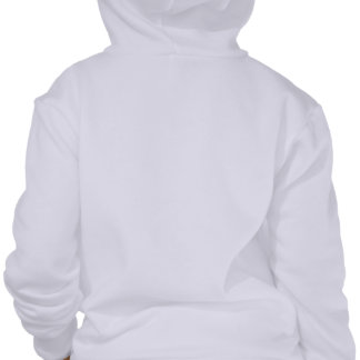Scarf and Black Cat (Happy Holidays) Hooded Sweatshirt
